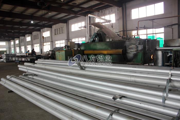 铝棒原材料堆放区3