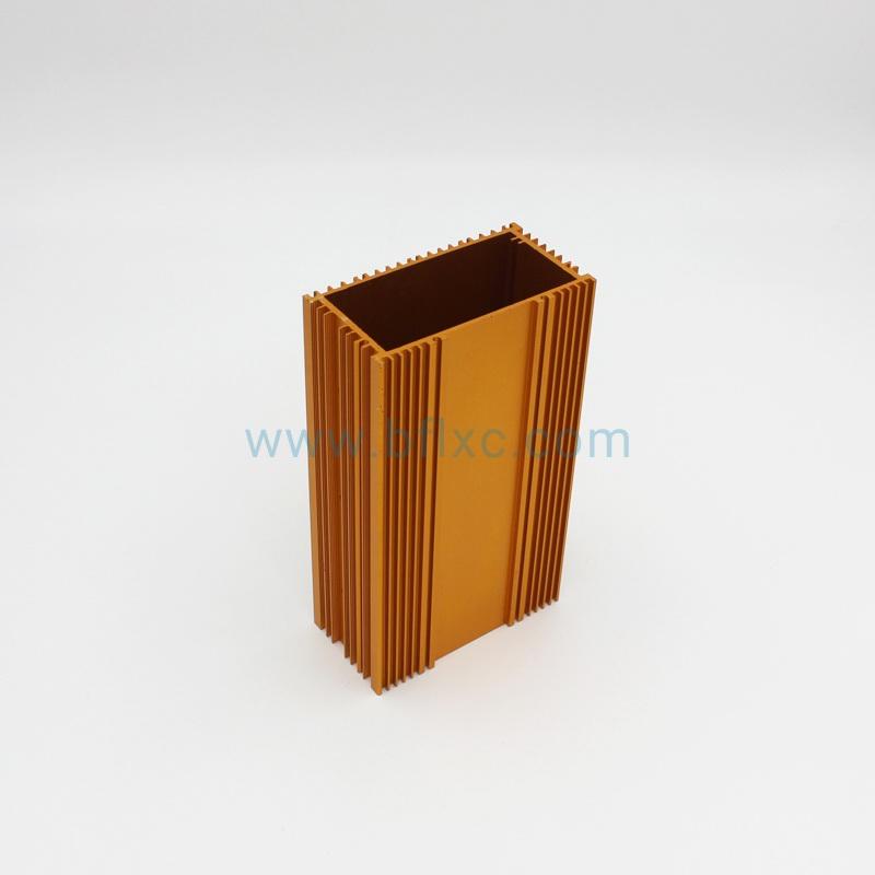 电动车控制器铝外壳(金色阳极氧化)图2
